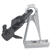 High Strength ABC Cable Suspension Clamp With Bracket